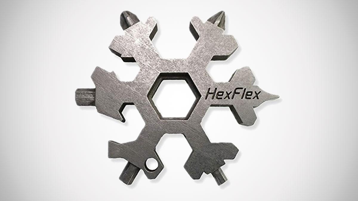 Hexflex Snowflake Pocket Tool