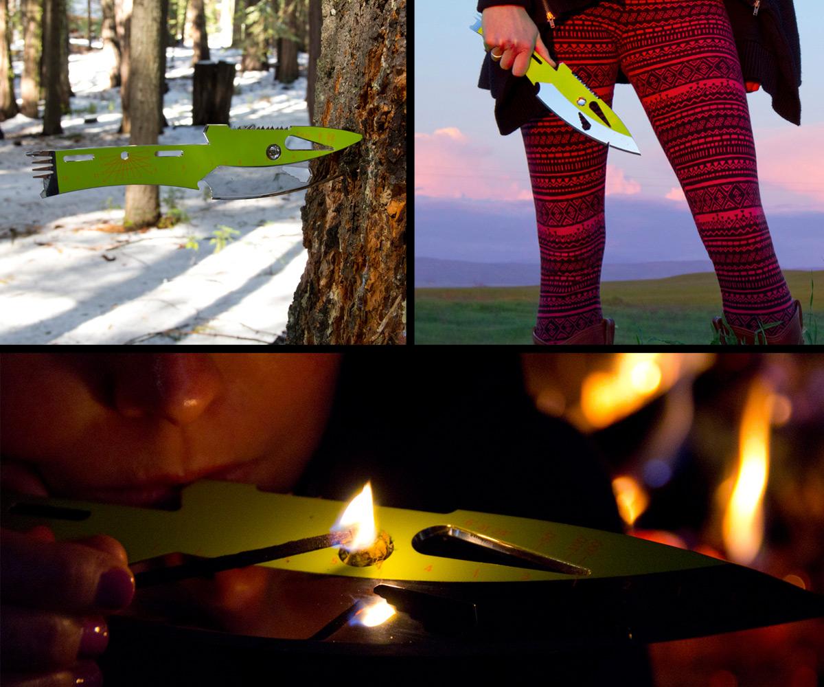 Kniper Throwing Knife & Multi-Tool