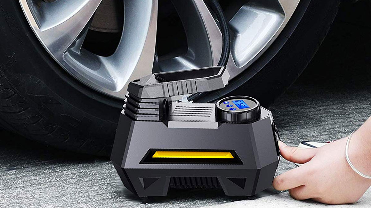 Portable Air Compressor Tire Inflator