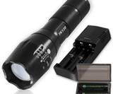 EcoGear FX Tactical LED Flashlight Kit