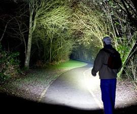 EcoGear FX Tactical LED Flashlight Kit