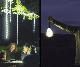 Luminoodle Use-Everywhere Light Rope & Lantern