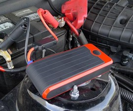 Portable Car Jump Starter & Power Bank