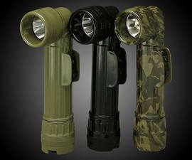 Rothco Angle Head GI Flashlight