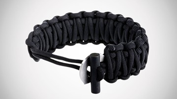 Friendly Swede Paracord Bracelet with Fire Starter