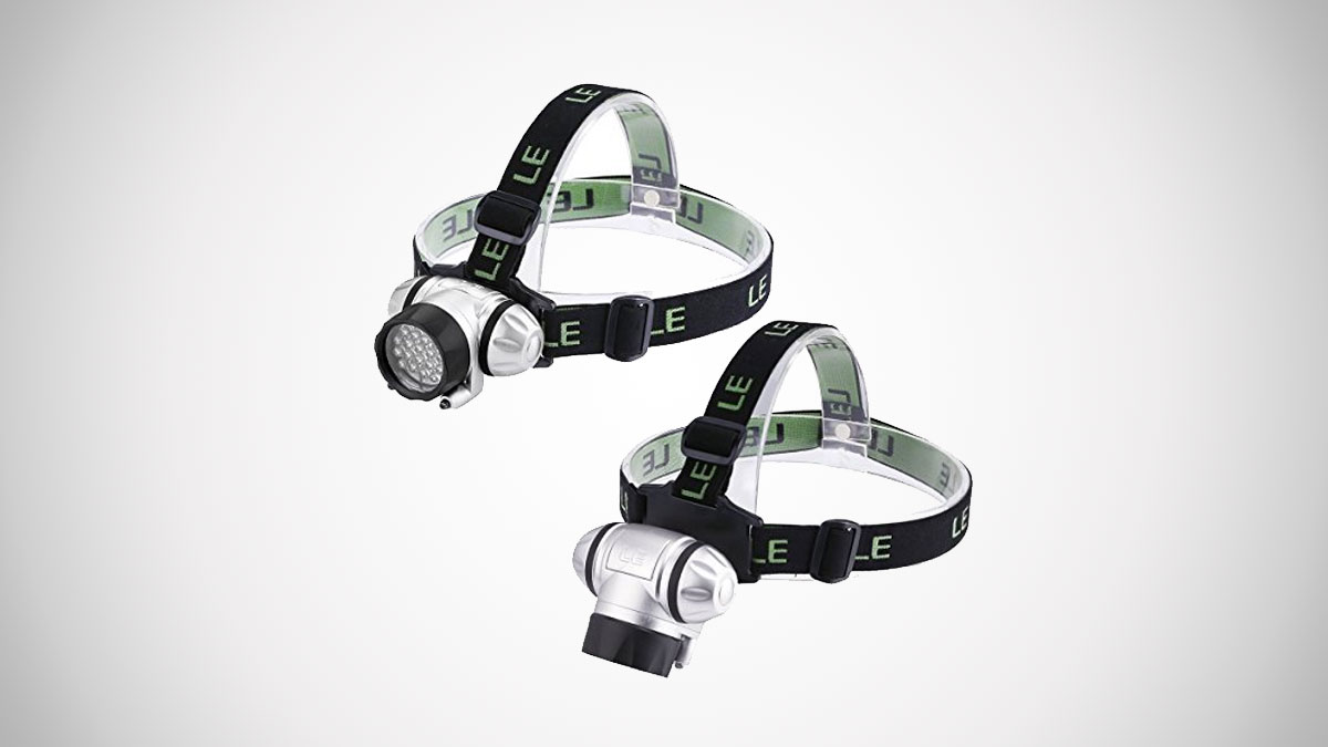 Rotating LED Headlamp
