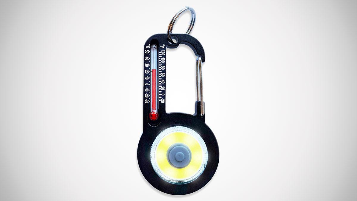 Sun Company TempaBright Thermometer Carabiner