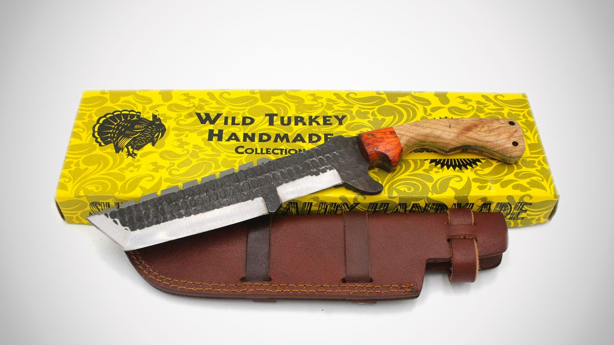 Wild Turkey Tracker Knife