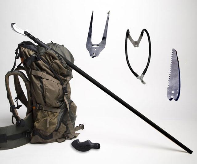 Zubin Axe Survival Staff