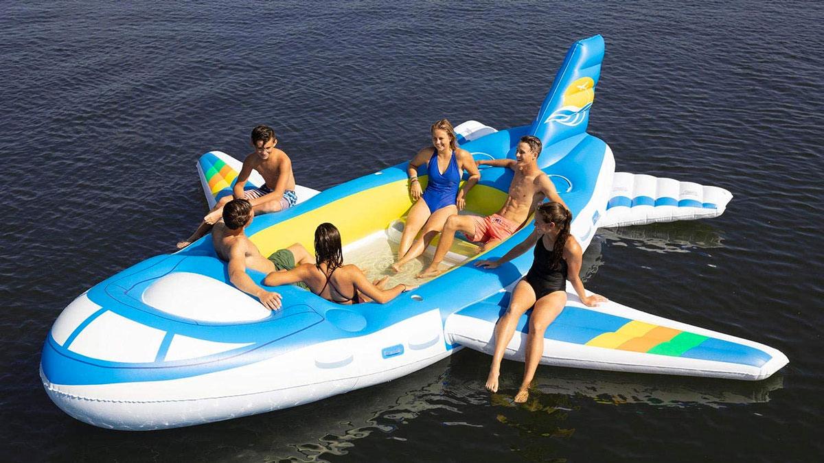 Airplane Floating Island