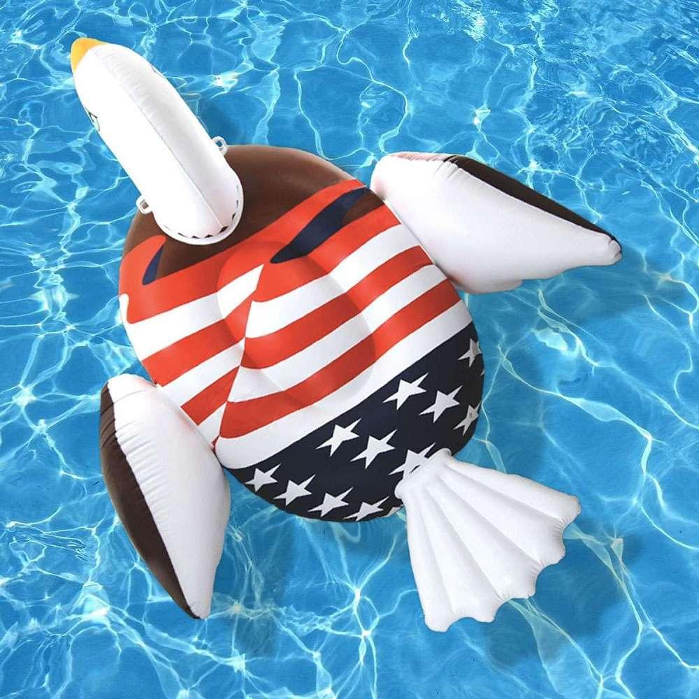 Bald Eagle Pool Float Dudeiwantthat Com