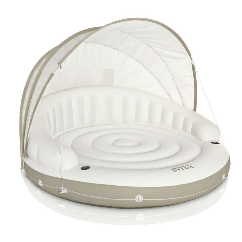 Canopy island inflatable lounge for Couch 6 personen