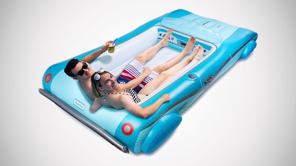 Convertible Car Pool Float