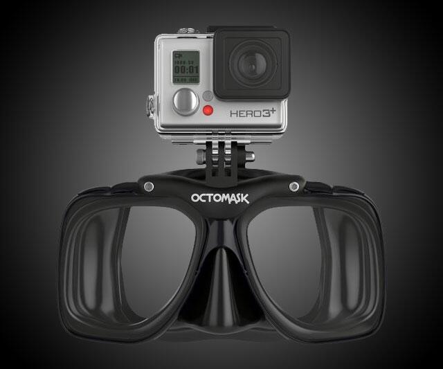 GoPro Compatible Scuba Mask