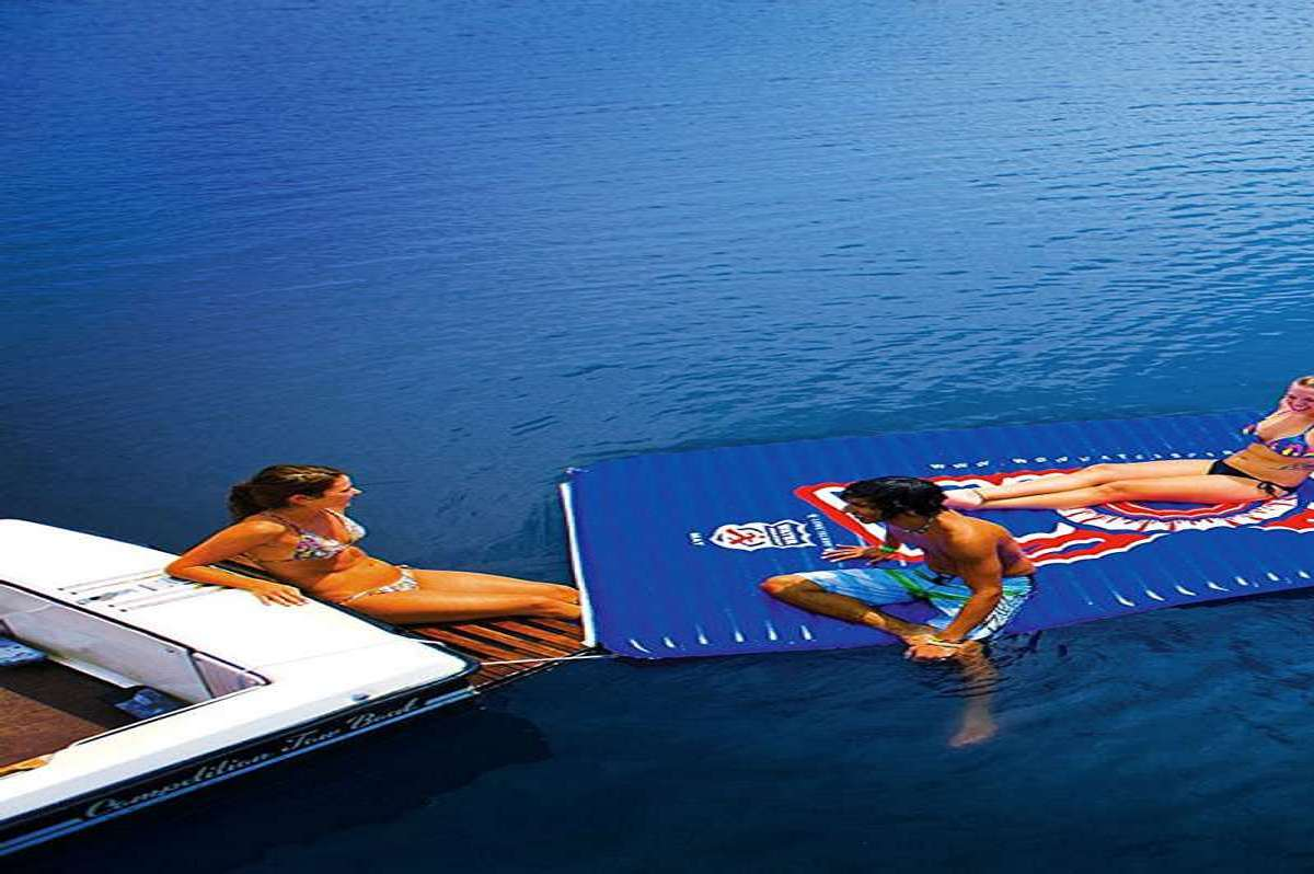 Inflatable Floating Water Walkway Dudeiwantthat Com