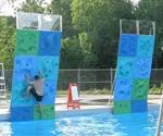 AquaClimb Poolside Water Walls