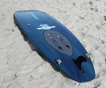 WaveJet Motorized Surfboard on the Beach