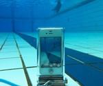 iPhone SCUBA Case Submerged Under Water