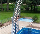 AquaClimb Poolside Water Walls