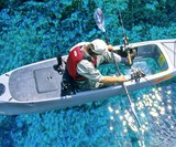 Caribe Clear Bottom Fishing Kayak