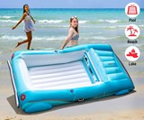 Convertible Car Pool Float