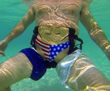 Floaty Pants Hands-Free Flotation Device