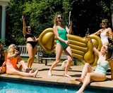 Golden Boy Pool Float