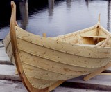 Hand-Built Roskilde Viking Ship