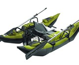 Inflatable Pontoon Boat with Motor Mount