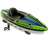 Intex Challenger 1-Person Inflatable Kayak Set