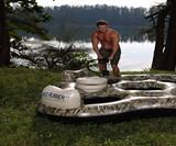 Realtree Camouflage Floating Island