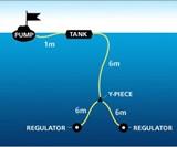 Snorkel Hookah Diagram