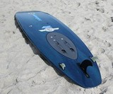 WaveJet Motorized Surfboard on the Beach