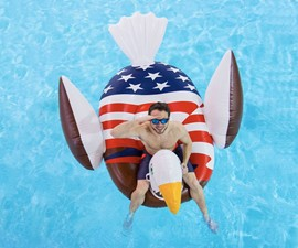 Bald Eagle Pool Float