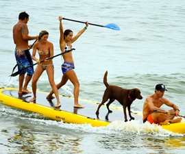 BigSup 10-Person Paddle Board