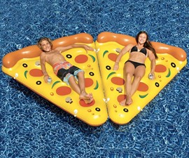 Inflatable Pizza Slice Raft