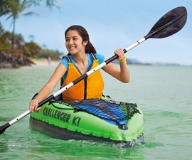 Intex Challenger Inflatable Kayak Set