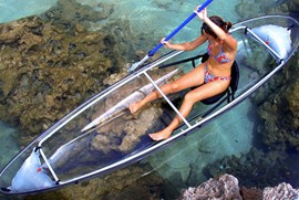 See Through Bottom Canoe