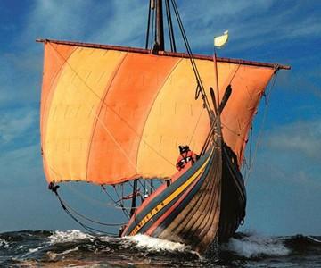 Hand-Built Roskilde Viking Ship
