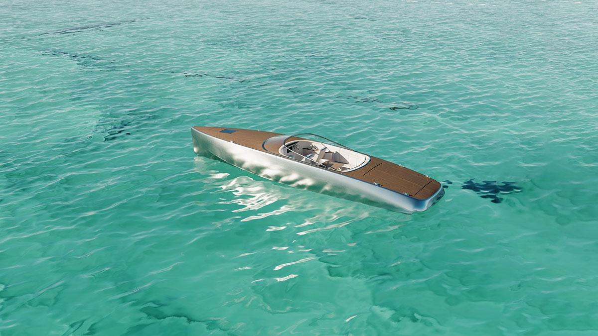 SARVO37 Electric Day Cruiser Boat