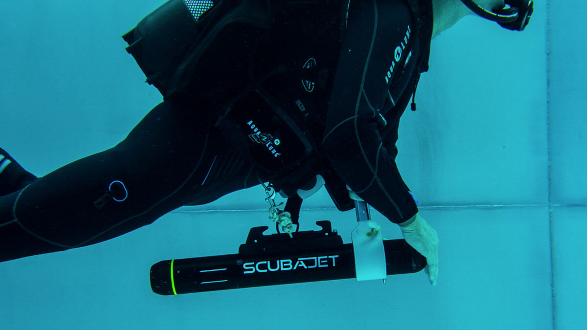 SCUBAJET Water Jet Propulsion System