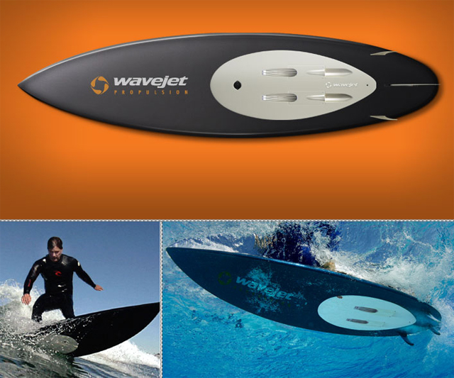 WaveJet Motorized Shortboard