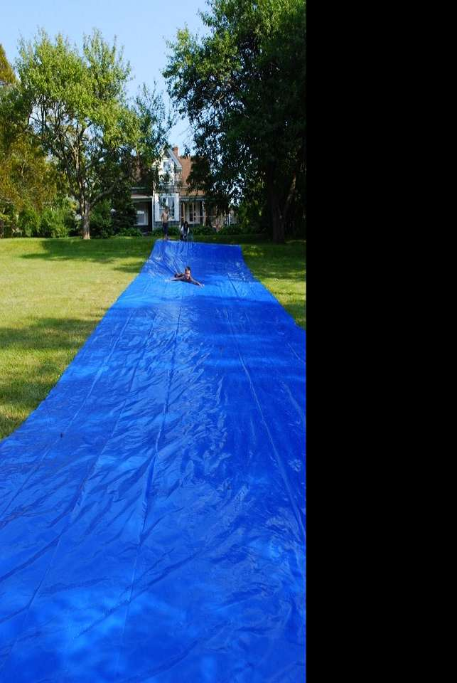 World's Biggest Backyard Water Slide | DudeIWantThat.com