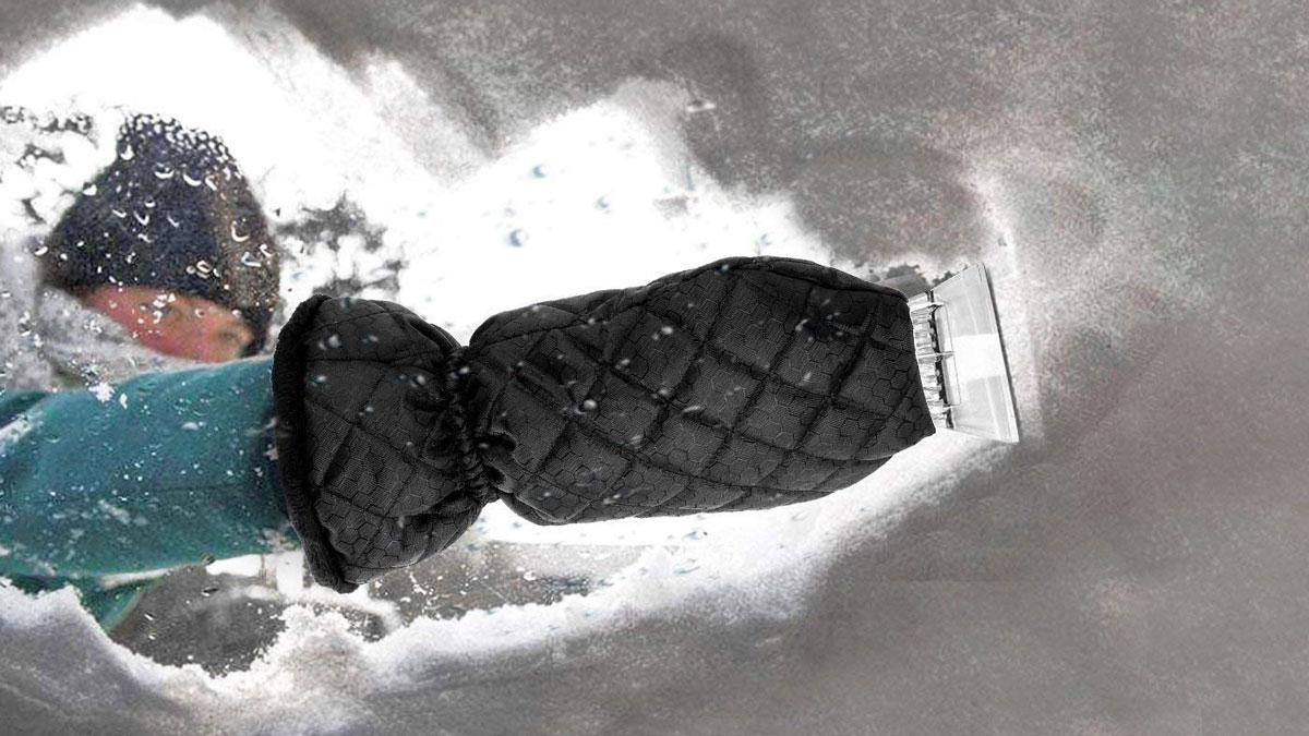 Ice Scraper Mitts