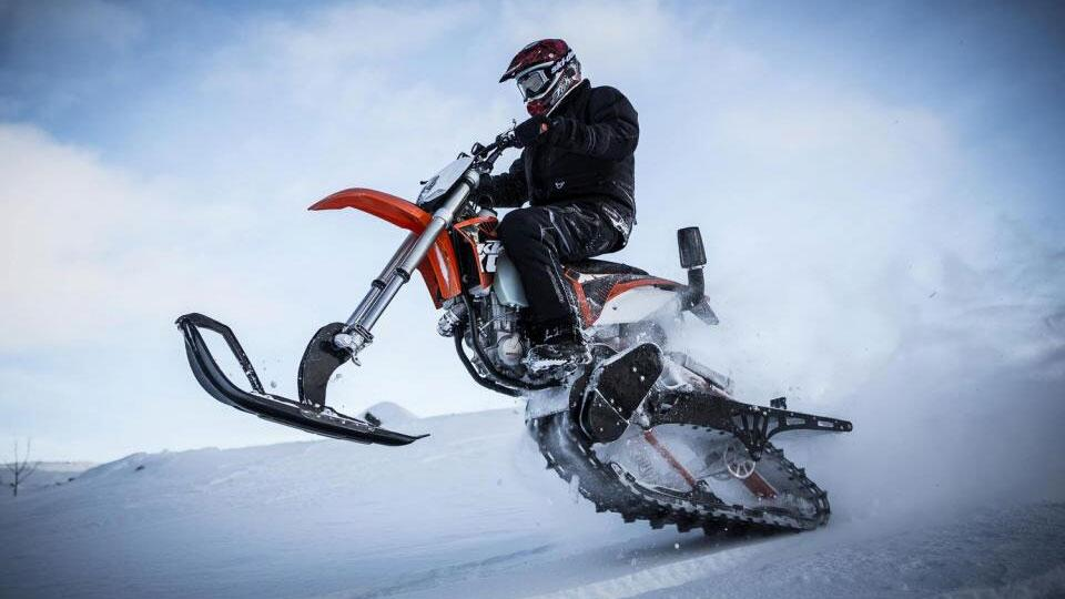 Mountain Horse Dirt Bike Snow Kits