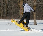 Gas Powered Snowboard