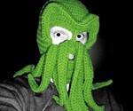 Green Cthulhu Ski Mask