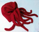 Red Cthulhu Ski Mask