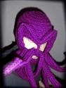 Purple Cthulhu Ski Mask