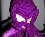 Purple Cthulhu Ski Mask